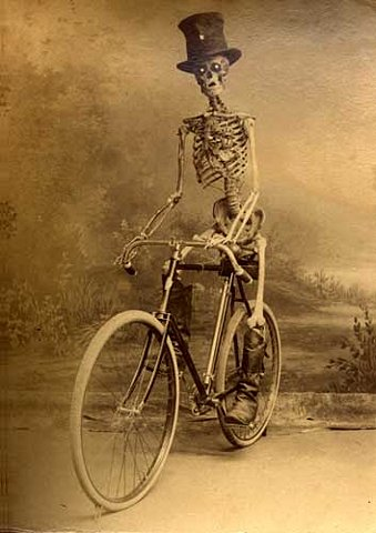 bike skeleton